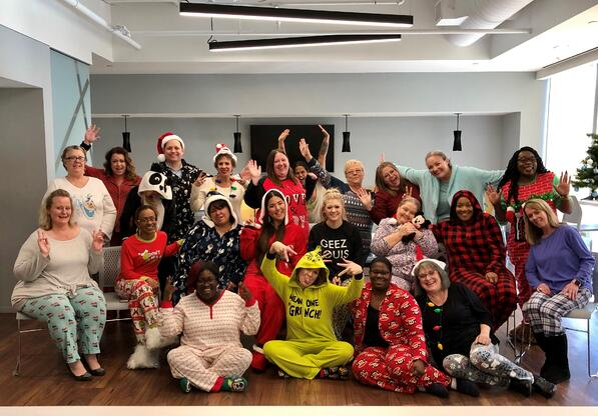 Woodlands Team Pajama Day 2019